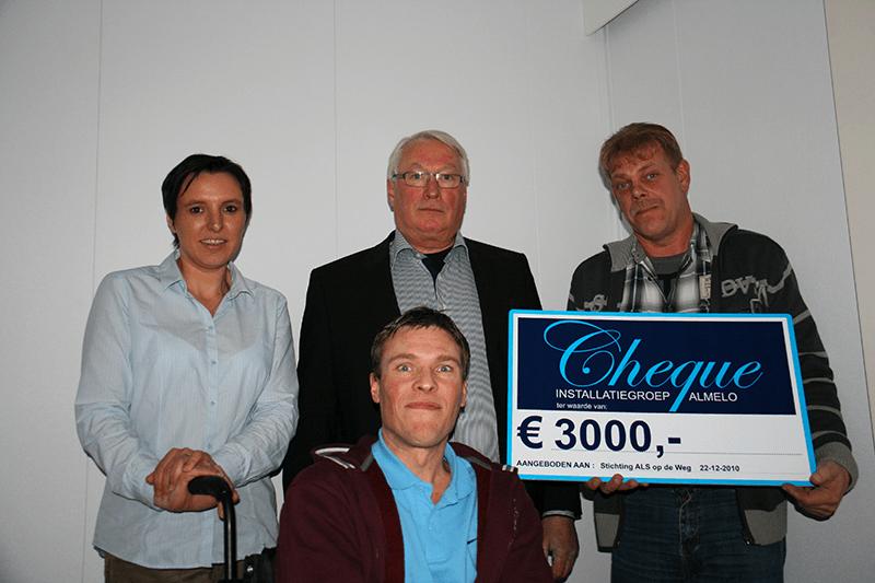 Stichting ALSopdeweg! - acties