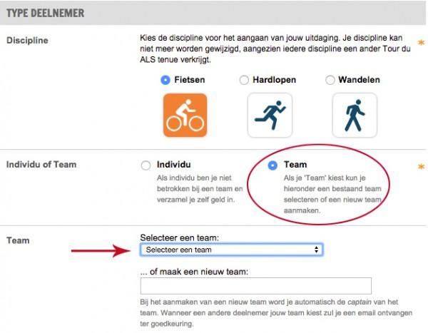 Stichting ALSopdeweg - maak je keuze