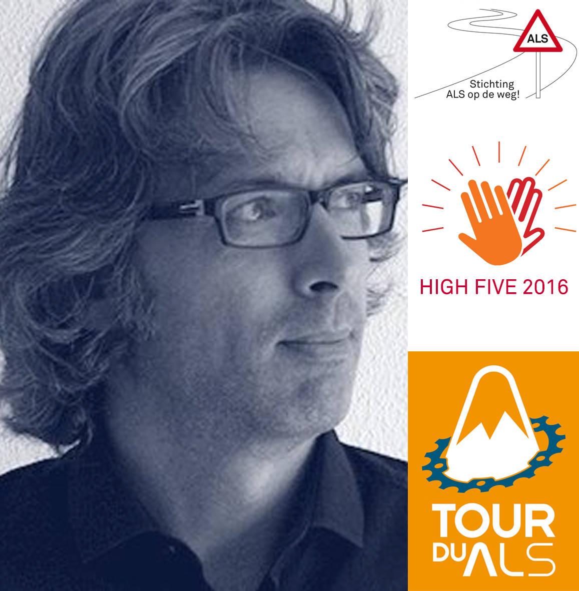 Stichting ALSopdeweg! - Jeroen, Tour du ALS 2016
