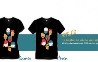 Stichting ALSopdeweg! - ALS t-shirt