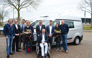 Stichting ALSopdeweg!- Aflevering Ford Transit Custom 23 maart 2016