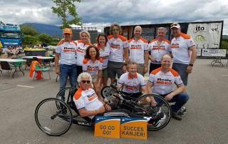 Stichting ALSopdeweg! - Tour du ALS 2016 teamfoto