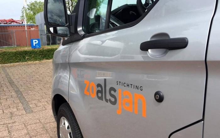 Stichting ALSopdeweg! - Ford Transit Custom