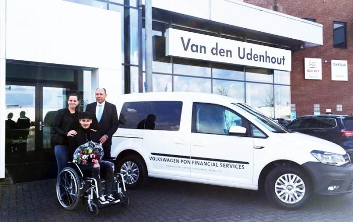 Stichting ALSopdeweg! - uitreiking Caddy VWPFS