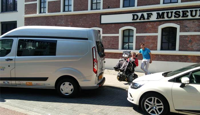 Stichting Alsopdeweg! - Vriendenloterij Ford Transit Custom