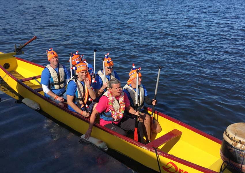 Stichting ALSopdeweg! - Drakenbootrace Soest 2018