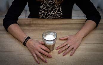 Marije drinkt de hele maand januari geen koffie
