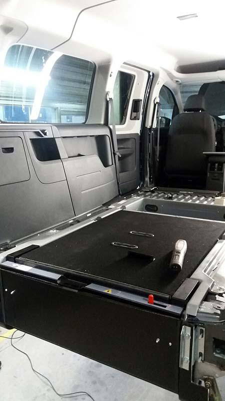 Stichting ALS op de weg - Ombouw Volkswagen Caddy Maxi