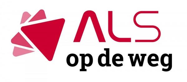 Nieuw logo voor Stichting ALS op de weg