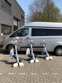 Stichting ALS op de weg neemt drie nieuwe theratrainers in gebruik voor de clienten