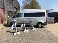Theratrainer Tigo overhandiging in Vaassen voor stichting ALS op de weg