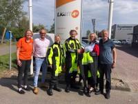 Stichting ALS op de weg - uitreiking droogpakken bij Light4U
