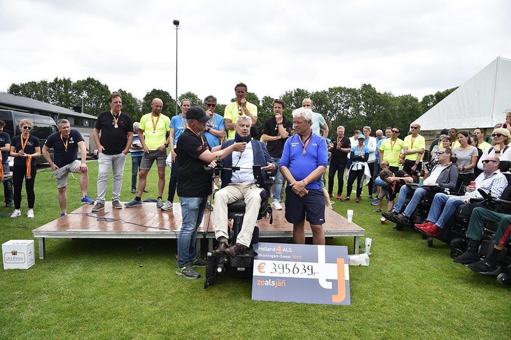 Stichting ALS was aanwezig bij de finale van Holland 4 ALS 2019