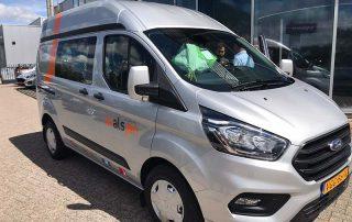 Uitreiking Ford Transit Custom 2 juli 2020
