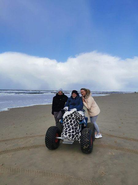 Stichting ALS op de weg _ Tom - strand Zeeland