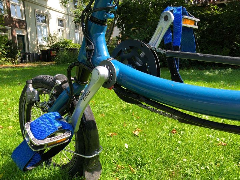 ALS op de weg - Pfau Tec 3 wiel fiets